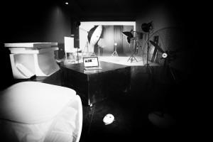 Shooting in sala di posa - Officine Fotografiche